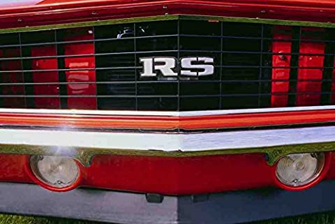 Metal Sign 778069 1968 Chevrolet Camaro Rally Sport Front Grill A4 12X8 Aluminium