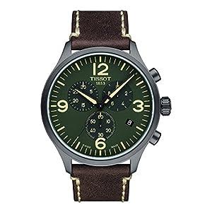 Tissot Reloj Cronógrafo para Hombre de Cuarzo con Correa en Cuero T1166173609700