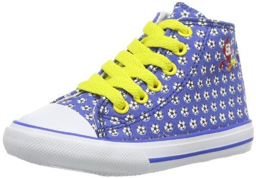 EB kids  Fly High Kids, Hi-Top Slippers mixte enfant Bleu - Blau (blau/weiß)