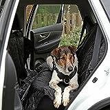 ORIGINAL PetsN'all SITZBEZUG, für AUTO, Fahrzeug, ROBUST, WASSERDICHT, HOCHWERTIGER Sitzbezug für Hunde, UNIVERSAL PASSFORM, Alternativ für UMZUG u. TRANSPORT, SITZSCHUTZ (Farbe Schwarz) (190x147cm)