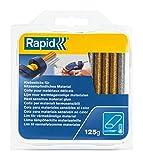 Rapid 40108463 Colla Rapid Oval a Bassa Temperatura Glitter Oro Argento, Assortiti