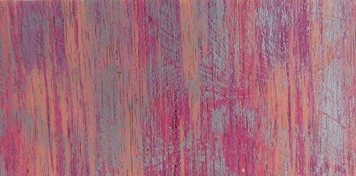 Wachsplatte rosa silber, multicolor 20x10 cm - 9776 - Verzierwachsplatte 200x100 mm für Kerzen