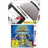 Nintendo 3DS XL - Konsole, silber/schwarz + Pokémon Super Mystery Dungeon