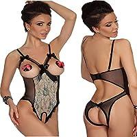 QIYUSHOW da donna Sexy Lingerie Perizoma Biancheria Intima Indumenti da notte Dress Nightwear - Spandex Uniform