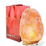 Levoit Elana Salz Lampe Salzlampe Salzkristalllampe vom Himalaya Salzleuchte Nachttischlampe 3-5 kg