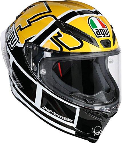 AGV Motorradhelm Corsa R E2205 Top PLK, Rossi Goodwood Gelb, Größe MS
