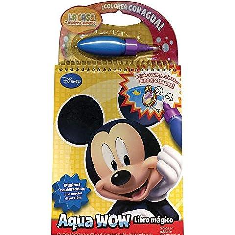 La casa de Mickey Mouse / Mickey Mouse Club House (Aqua Wow. Libro Magico / Aqua Wow. Doodle Book)