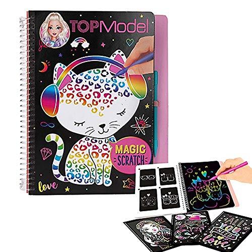 Top Model- TOPModel Magic-Scratch Book (0010707), (DEPESCHE...