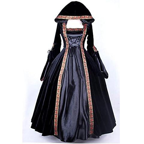 Costumes Masquerade Princesse - Cosplayitem Femmes Robe Médiévale Gothique Costume Victorien