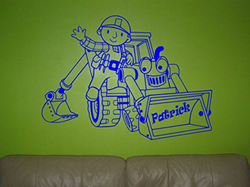Used, Bob The Builder wall sticker, Bob The Builder wall for sale  Delivered anywhere in UK