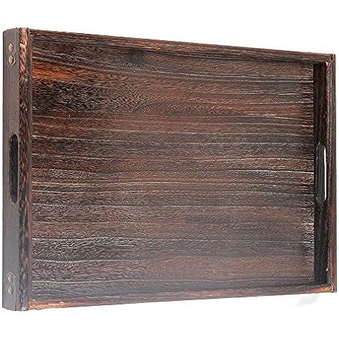 ncyp naturale 48x 30cm Vassoio in legno di paulonia