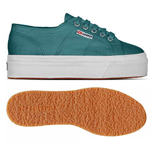 Superga - 2790 Acotw - Sneakers basses - femme GREEN TEAL