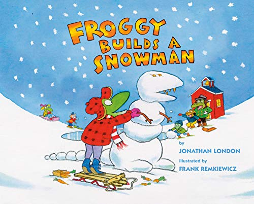 Froggy Builds a Snowman (English Edition)