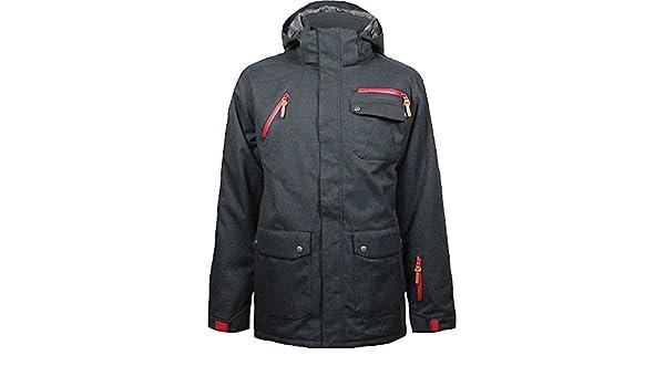 Boulder Gear Mens Atticus Jacket X-Large Black Weave OUTDOOR GEAR INC 2806R