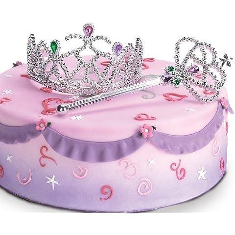 Princess Cake Kit (Tiara and Wand) by Bakery Crafts - Tiara Kit Craft