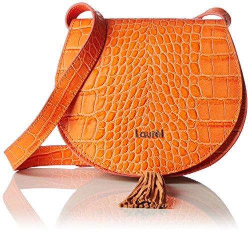 Laurèl Damen Tasche Schultertasche, Orange (Orange), 9x14x19 cm (Bag Laurel)
