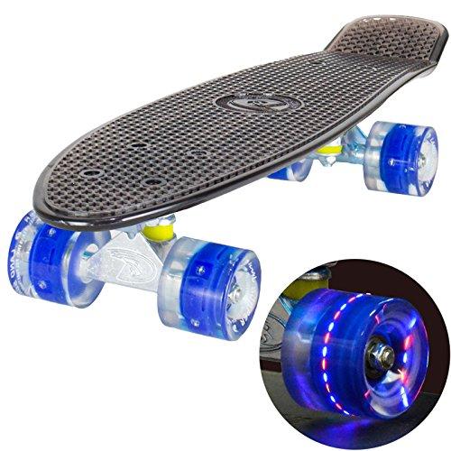 land-surferr-skateboard-cruiser-retro-completo-56cm-con-tavola-nera-trasparente-cuscinetti-abec-7-ru