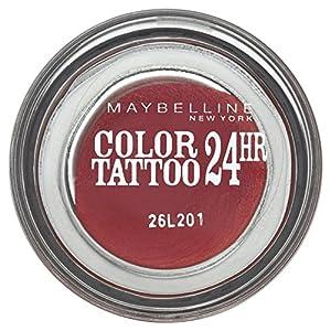 Gemey Maybelline Eye Studio Colour Tattoo 24 H Eye Shadow 70 Metallic Pomegranate