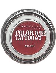 Gemey-Maybelline - Color Tattoo - Ombre à paupières Rouge - 70 metallic pomegranate