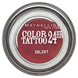Maybelline New York Color Tattoo - Ombre à paupières Rouge - 70 metallic pomegranate