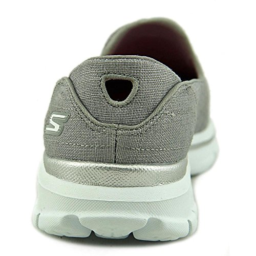 Skechers Gowalk 3 Rivera, Baskets Basses femme Gris