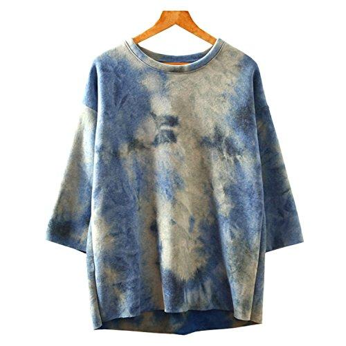 ArtSu -  Maglione  - Donna (Blue) Cool Colour Tone Taglia unica