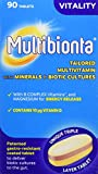 Seven Seas Multibionta Vitality, Multivitamin with Biotic Cultures, 90 Tablets