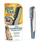 Peigne de toilettage électrique pour animaux de compagnie, anti-noeud nettoie les nodules sur le chien ouvert et le chat à poil long, nettoie la puce, outils de beauté pour rasage confortable et sûr