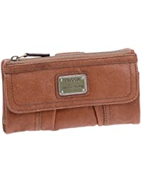 Fossil Emory-Clutch, Portefeuille femme - Cuir