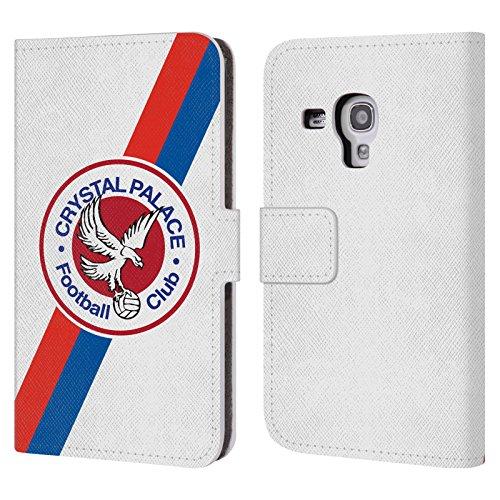Ufficiale Crystal Palace FC 70's Logo Aquila 2016/17 Collezione Retro Badge Cover a portafoglio in pelle per Samsung Galaxy S3 III mini