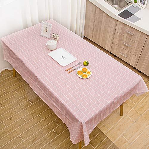 HUIHUI Tischdecke, Wachstuchtischdecke Wachstuch Wachstischdecke/PVC Große Rechteck Tischdecke...