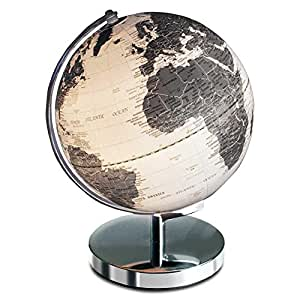 2 x lampe globe terrestre lumineux globuslampe leuchtglobus avec armature en m tal 30 cm amazon. Black Bedroom Furniture Sets. Home Design Ideas