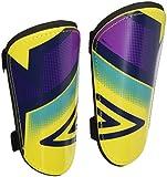 Umbro Neo Shield Slip Jnr–Schienbeinschoner für Männer, gelb/lila Cactus/Bluebird XS Amarillo/Morado Cactus/Bluebird