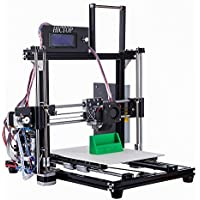 HICTOP Upgraded 24V 3D-Drucker Prusa I3 Desktop-Filament-Monitor DIY Kits Selbstmontage Aluminium-Maschine