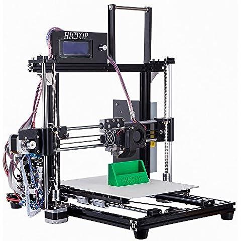 HICTOP aggiornato stampante 3D 24V Prusa I3 Desktop filamento Monitor fai da te kit macchina alluminio Autoassemblaggio