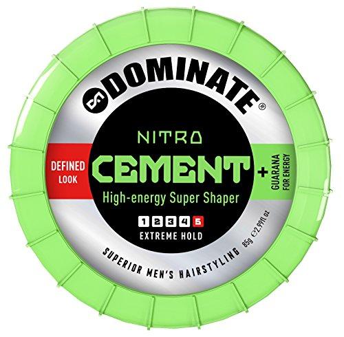 Dominate Salon Series Nitro Cement Pasta per Capelli - Tenuta Estrema Fattore 5 - 85g