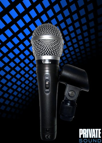 Dynamisches Mikrofon 24h EXPRESS-LIEFERUNG / Gesangsmikrofon / Sprachmikrofon / robust / hochwertig t.bone mb-60