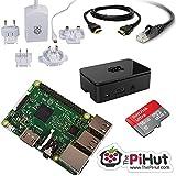 ThePiHut 16GB Raspberry Pi 3 Starter/Media Centre Kit. (Python, Kodi, Minecraft, Scratch and more)