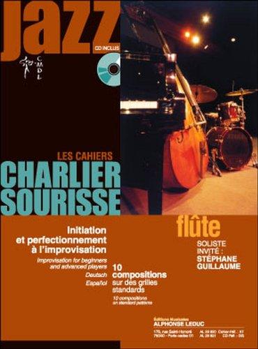 LEDUC LES CAHIERS CHARLIER SOURISSE POUR FLûTE + CD