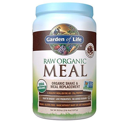 Garden of Life Raw Organic Mahlzeit (Orgain Protein-drink)