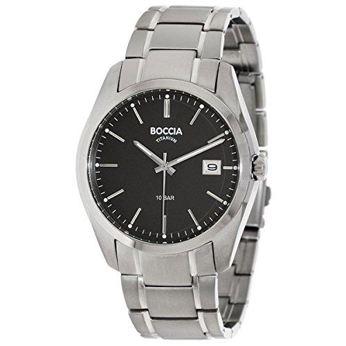 Boccia Herren-Armbanduhr 3608-04