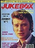 Jukebox Magazine N°32 - 6ème année : Johnny N°1 - Zombies, Rolling Stone, Danny boy interview, Screamin' Jay Hawkins, John cougar Mellencamp - Poster de Mick JAGGER ...