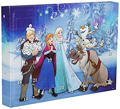 Disney Frozen DFR15-Y17-6345 - Calendario de Adviento con Borrador de Puzzle, Multicolor de Sambro