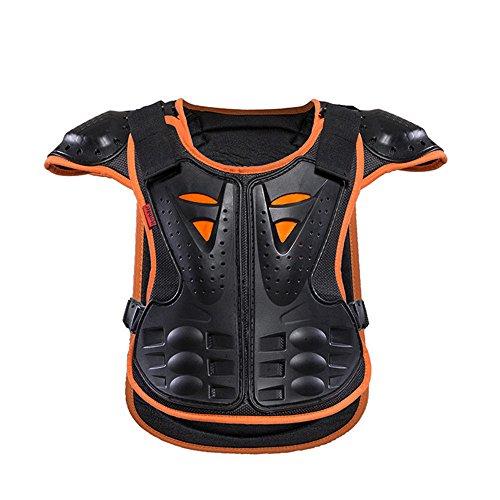 Brustschutz Motorrad Rüstung Motorrad Körper Brust Spine Protector Rüstung Weste Schutzausrüstung für Dirtbike Bike Motorrad Motocross Ski Snowboard Pro Adult Motocross Motorrad Körperschutz -