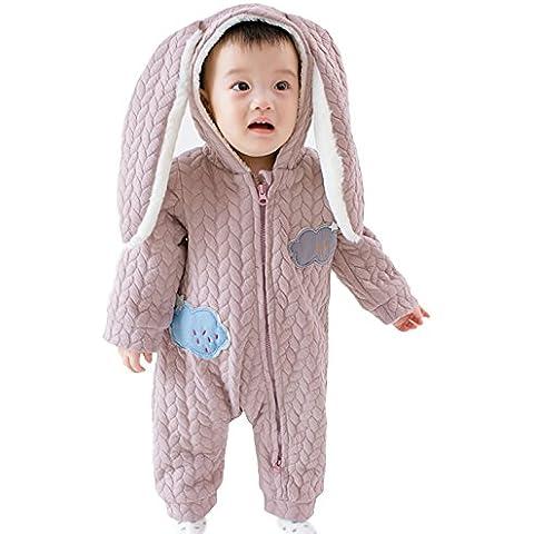 EOZY-Pagliaccetto Bambini Tutine Neonati Vestito a Orecchie Coniglio Costume Pigiama