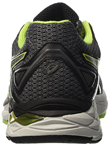 Asics Gel-phoenix 8, Gymnastique homme Grigio (Carbon/Silver/Safety Yellow)