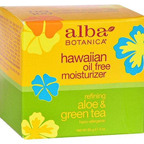 Alba Botanica Ölfreie Aloe Vera und Grüne Tee Feuchtigkeitscreme 90 ml (Green Tea Moisturizer)