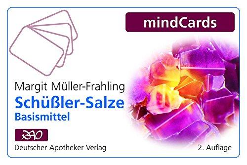 Schüßler-Salze: Beratungskarten zur Anwendung der 12 Basismittel