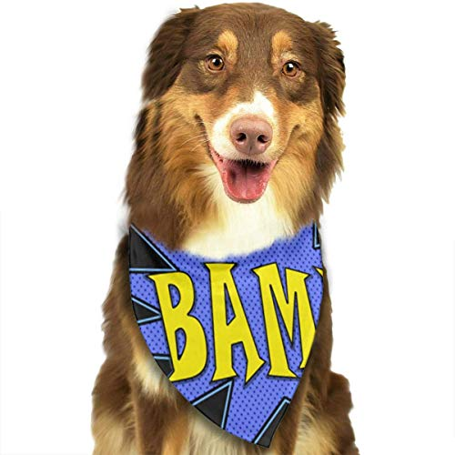 dana Washable Reversible Triangle Bibs Scarf - Kerchief for Small/Medium/Large Dogs & Cats ()