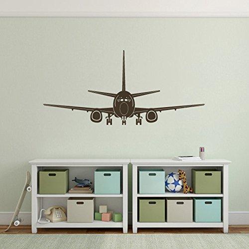 mairgwall-pared-vinilo-decoracion-de-avion-avion-de-pared-vinilo-decorativo-vinilo-marron-oscuro-32h